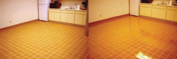 before after commercial floor coating
